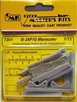 CMK #7201 1/72 B-26F/G Marauder Undercarriage Covers