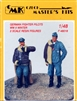 CMK #F48018 1/48 WWII German Fighter Pilots - winter