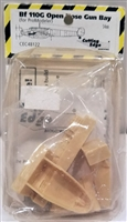 Cutting Edge #48122 1/48 Bf 110G Open Nose Gun bay