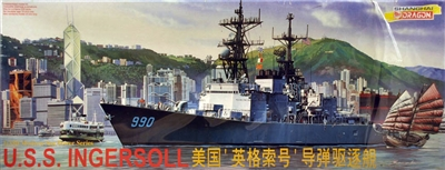 DML/Dragon #1007 1/350 USS Ingersoll ABL Destroyer