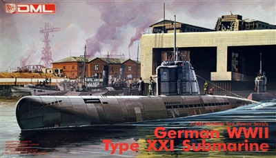 DML_1008_German_WWII_Type_XXI_Submarine