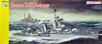 DML/Dragon #1037 1/350 German Z-39 Destroyer - WWII
