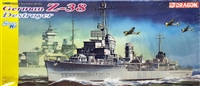 DML/Dragon #1049 1/350 German Z-38 Destroyer - WWII