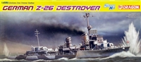 DML/Dragon #1064 1/350 German Z-26 Destroyer - WWII