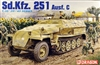 DML/Dragon #6187 1/35 Sd.Kfz 251 Ausf. C