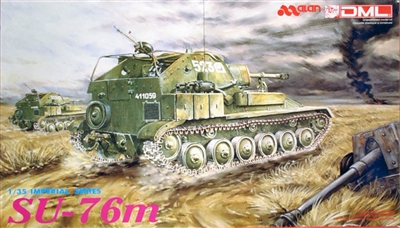 DML/Dragon #9001 1/35 SU-76M Self-Propelled Gun