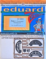Eduard 33003 F4U-1 Corsair dashboard