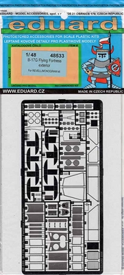 Eduard #48533 1/48 B-17G Flying Fortress Exterior