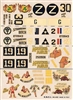 Esci #12 1/72 USA: Consolidated B-24 Liberator Nose Art Decal Sheet