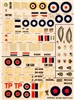 Esci #20 1/72 Great Britain: Spitfire & Typhoon Decal Sheet