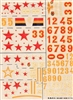 Esci #25 1/72 Russia: Tupolev SB-2 & Petylakov PE-2 Decal Sheet