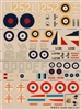 Esci #33 1/72 Great Britain: Westland Lysander & Bristol Blenheim Decal Sheet