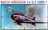 Esci #4042 1/48 North American FJ-2/3 Fury