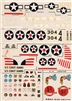 Esci #47 1/72 USA: OS2U Kingfisher & J2F Duck Decal Sheet