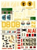 Esci #59 1/72 USA: Douglas C-47 Skytrain Dakota Decal Sheet