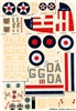 Esci #60 1/72 USA & Great Britain: PBY Catalina & Sunderland Decal Sheet