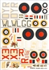 Esci #61 1/72 Great Britain: Handley Page Hampden & Avro Anson Decal Sheet