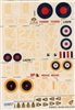 Esci #63 1/72 Great Britain: Vickers Wellington Decal Sheet