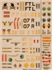 Esci #7 1/72 USA: P-47 Thunderbolt & P-51 Mustang Decal Sheet