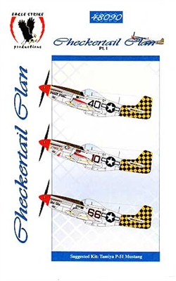 Eagle Strike Productions #48090 1/48 Checkertail Plan Pt. I