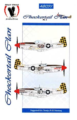 Eagle Strike Productions #48091 1/48 Checkertail Plan Pt. II