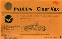 Falcon Canopy 1:72 #2 WWII RAF Fighters