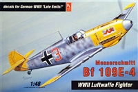 Hobby Craft #1570 1/48 Messerschmitt Bf 109E-4