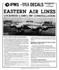 IPMS_Decal_1984_Eastern_Airlines_Lockheed_L-649