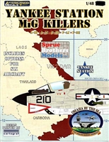 IPMS USA 2011 Nats Omaha, NE Yankee Station MiG Killers 1/48 Decal Sheet