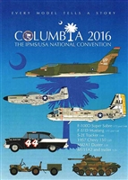 IPMS USA 2016 National Convention Columbia, SC Decal Sheet