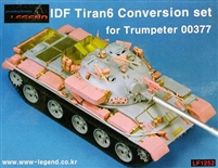 Legend #1252 1/35 IDF Tiran6 Resin Conversion Set