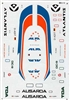 Microscale #44-18 1/144 Douglas DC-9-14 Decal Sheet