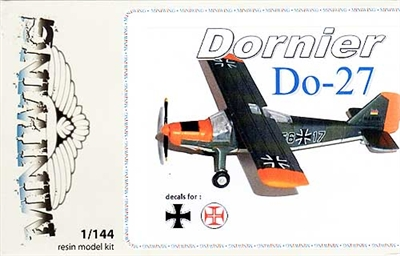 Miniwing #MW068 1/144 Dornier Do 27