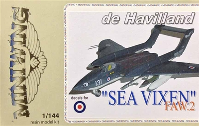 Miniwing #MW069 1/144 De Havilland Sea Vixen FAW.2