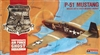 Monogram #5214 1:48 P-51B Mustang - Confederate AF Ghost Squadron