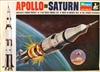 Monogram #6869 1/144 Apollo Saturn Rocket