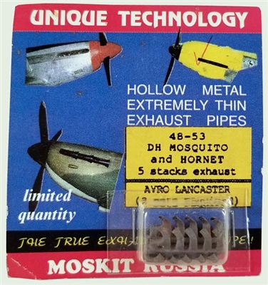 Moskit 48-53 Mosquito and Hornet exhaust
