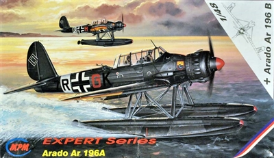MPM #48031 1/48 Arado AR 196A and 196B