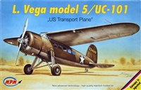 MPM #72522 1:72 Lockheed Vega model 5 / UC-101