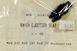 NKR Models #KM1M 1/48 KM-1M Ejection Seat