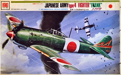 "Otaki #OT2-10 1/48 Japanese Army Type 4 Fighter ""Frank"""