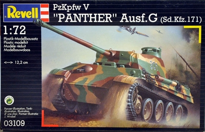 Revell #03109 1:72 PzKpfw V 'Panther' Ausf. G