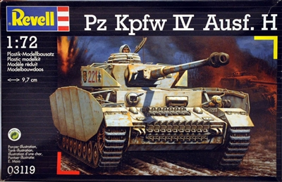 Revell #03119 1:72 PzKpfw IV Ausf. H