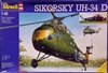 Revell #4485 Sikorsky UH-34 D Marine Helicopter