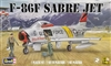 Revell #855319 F-86F Sabre Jet - Black Angel
