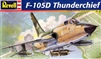 Revell #85-5840 1/48 Republic F-105D Thunderchief