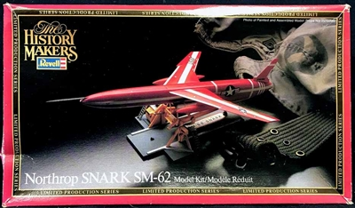 REV8612 Revell  #8612 1/96 Northrop SM-62 Snark Missile History Makers