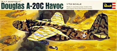 Revell  #H-115 1/72 A-20C Havoc (RAF Boston III)