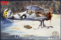 Roden #401 1/48 Gloster Gladiator Mk.II with Skis