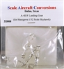 Scale Aircraft Conversions #32008 1/32 A-4E/F Landing Gear